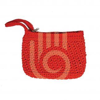 Red Woolen Pouch