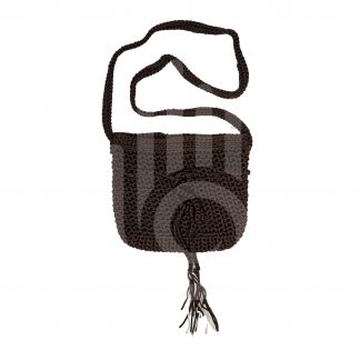 Crafts With Meaning_Dark Brown Woolen Purse