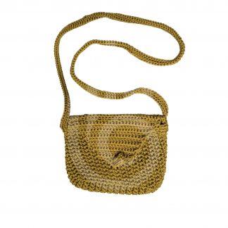 Gold Woolen Pouch
