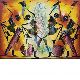 Katingilitingili Dance Painting