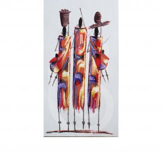 Masai Women Painting