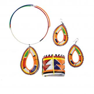 Beaded Masai Jewellery Set