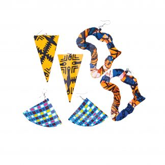 Crafts With Meaning_Handmade Ankara Fabric Jewellery Set